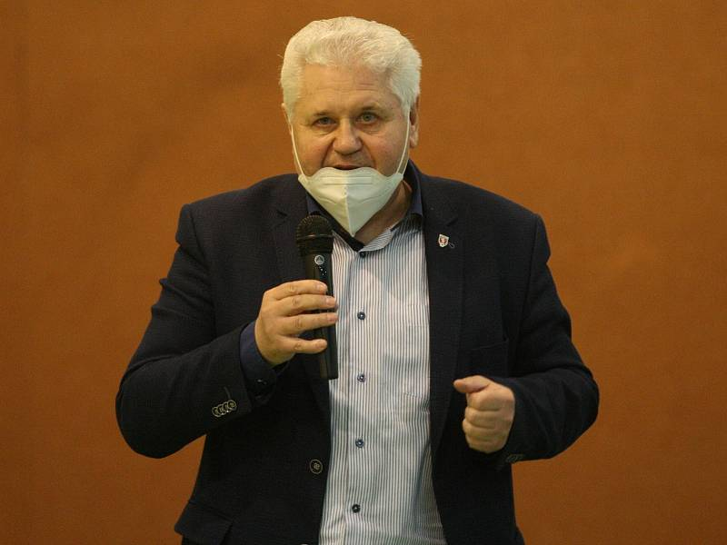 Předseda OFS Uherské Hradiště František Miko.