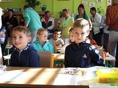 První školní den na ZŠ Sportovní v Uherském Hradišti.