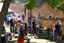Kovářský svátek na hradě Buchlově