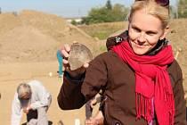 Archeologové nacházejí v těchto dnech na okraji Starého Města stopy po osídlení z dob Velké Moravy.