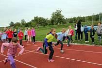 Školáci se v Polešovicích utkali v atletické čtyřboji