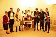 Cimbálová muzika Stojanova gymnázia Velehrad byla u papeže.