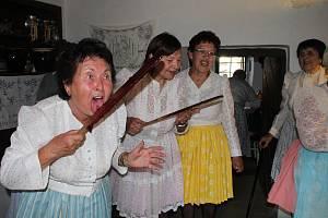 Jubilejní 20. ročník akce s názvem Vaření trnek v areálu starobylého Muzea Na Mlýně v Dolním Němčí