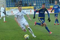 Slovácko (v bílém) proti Jihlavě