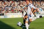 Petr Švancara vstřelil za velkého přispění hradecké obrany gól na 1:0