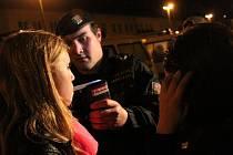 Kontrola požití alkoholu u mladistvých