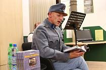 Ředitel hradišťské knihovny v úterý pokřtil svou novou knihu o 1. světové válce.