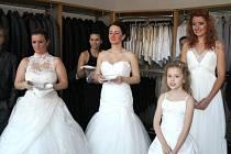 Svatební salon Svatka otevřel svoji novou provozovnu v Nádražní ulici v Uherském Hradišti.