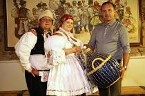 stárkovský pár roku 2018 Zleva Michal Chromek, Marie Janíčková a Libor Zlomek