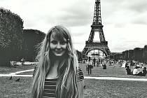 Veronika Černíčková v Paříži. Ilustrační foto.