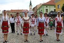 Dětský folklórní festival Kunovské léto zahájil ve čtvrtek 19. června průvod v ulicích Uherského Hradiště.