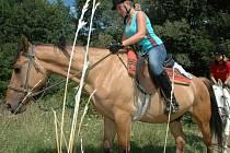 Putovní jezdecký tábor vyrazil z ranče Nevada po Chřibech.