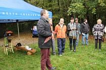 Setkání starosty Uh. Hradiště Stanislava Blahy s občany v Kunovském lese.