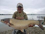 Soutěžní číslo 20: Aneta Crlová, amur, 92cm, 12kg.