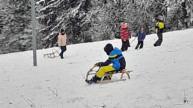 Skiareál Mikulčin vrch, 9. ledna 2021