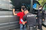 Policisté vrátili na Slovensko migranty zadržené ve Starém Hrozenkově