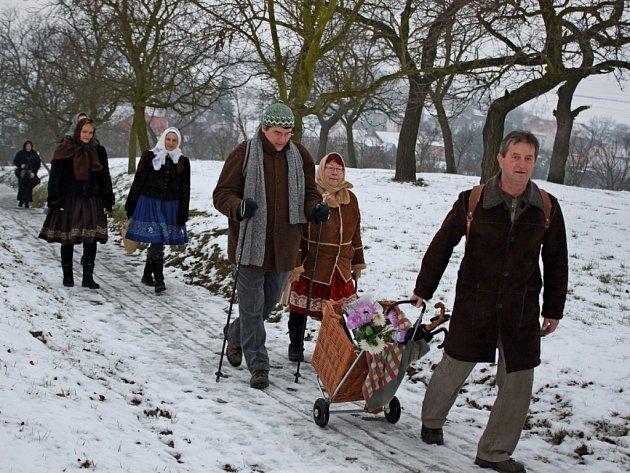 Sobotní rozhýbání těl v přírodě přišlo po Vánocích vhod.