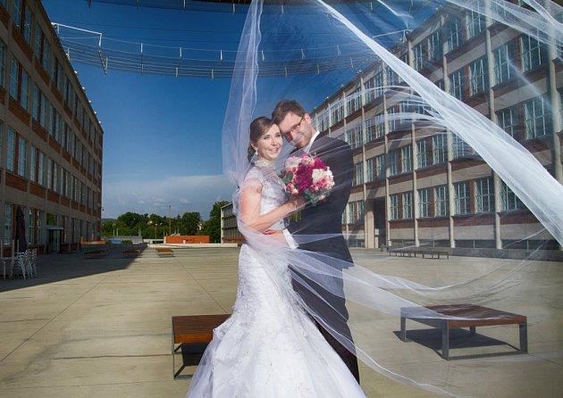 Soutěžní svatební pár číslo 146 - Kristýna a František Hanko, Zlín