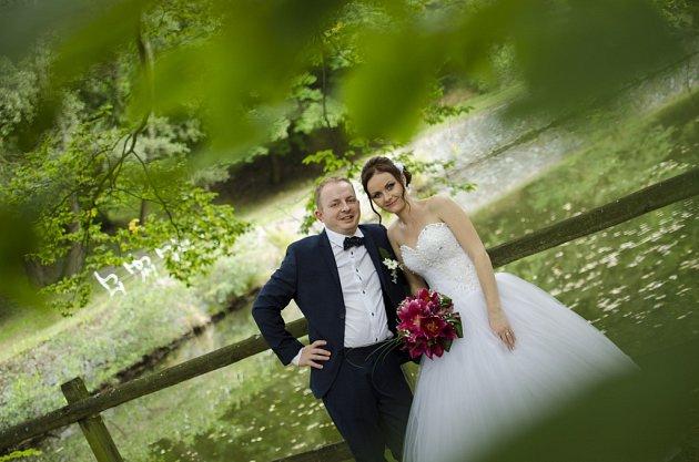 Soutěžní svatební pár číslo 20 -   Kateřina a Petr Hartlovi, Horní Štěpánov
