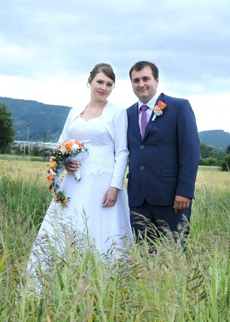 Soutěžní svatební pár číslo 42 - Renata a Milan Kulichovi, Bystřice pod Hostýnem