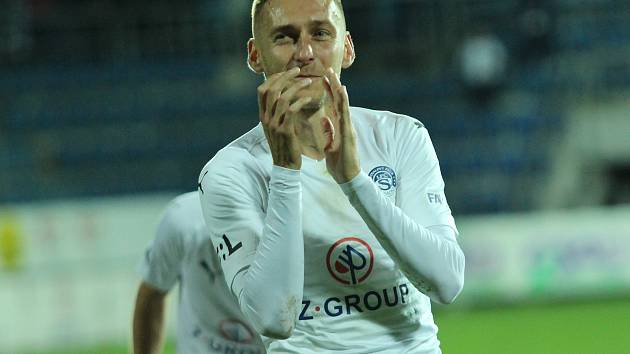 Zkušený křídelník Slovácka Jan Kalabiška patří mezi žolíky trenéra Martina Svědíka.