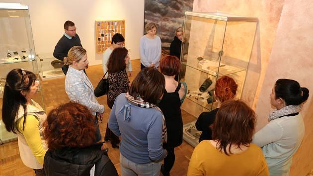 Výstava Umění pravěku. Pravěk umění ve Slováckém muzeu