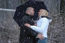 Petr Mlýnek a Veronika Belantová mají svátek Valentýna moc rádi.