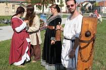 Mohli je v sobotu prožívat návštěvníci III. ročníku Procházky středověkem ve Starém Městě.
