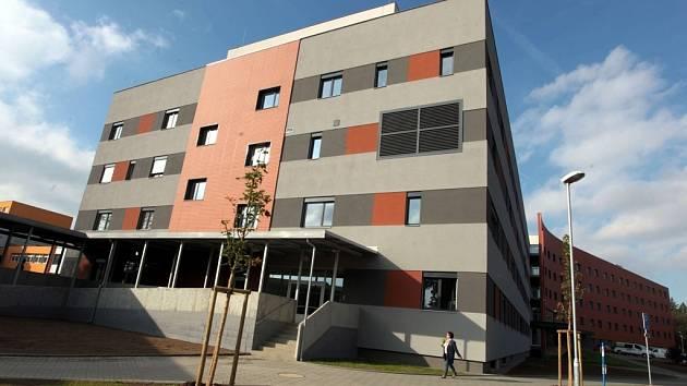 Nový centrální objekt chirurgických oborů v Uherskohradišťské nemocnici.