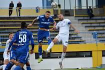 Fotbalisté Slovácka (v bílých dresech) v pátek remízovali s druholigovým ruským Orenburgem.