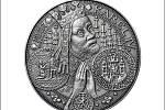 Kilo stříbra: slavný motiv nesou ražby ve třech různých úpravách povrchu. Nechybí ani patina (na snímku).