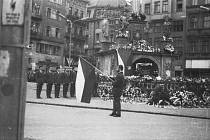 Pohřeb Jana Palacha.