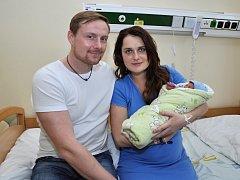 Jako první v roce 2016 se v Uherskohradišťské nemocnici narodil chlapeček Jonáš