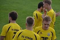 Fotbalisté Strání. Ilustrační foto