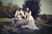 Soutěžní svatební pár číslo 9 - Lucie a Jan Koskovi, Uherské Hradiště, Buchlovice