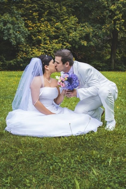 Soutěžní svatební pár číslo 144 - Lucie a Josef Vašinovi, Březůvky