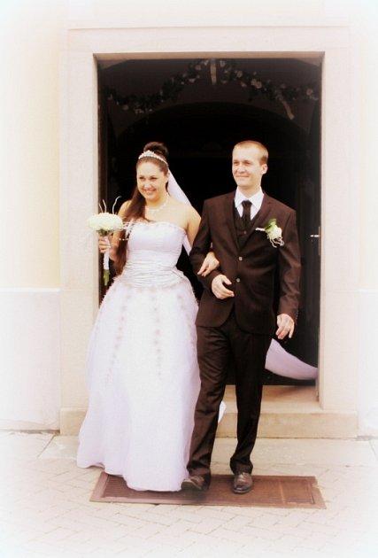 Soutěžní svatební pár číslo 226 -  Jiří a Simona Vybíhalovi, Protivanov.