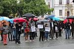 Demonstrace v Uherském Hradišti