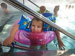 Miliontý návštěvník by se měl v hradišťském aquaparku objevit během nejbližších několika dnů.