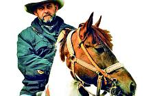 Majitel ranče Nevada a koňák Antonín Nevřiva.
