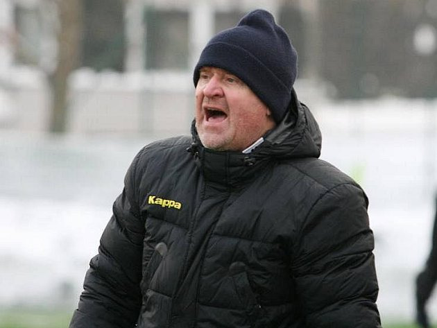 Trenér Slovácka Josef Mazura