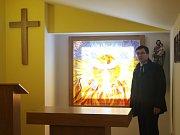 Pacienti uherskobrodské nemocnice mohou hledat duchovní útěchu v nové nemocniční kapli.