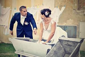 Soutěžní svatební pár číslo 77 - Martina a Jan Páleníčkovi, Olomouc