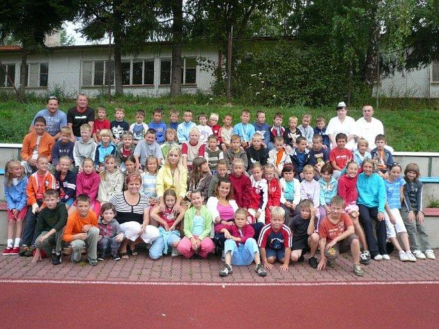 """Účastníci příměstského tábora """"´Peking 2008"""" se rozhodně nenudili."""
