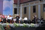 Pět tisíc lidí zavítalo v pondělí večer na velehradský  Koncert lidí dobré vůle.