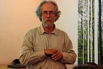 Na besedu Expedice Chřiby dorazil do penzionu Bunč i komentátor Deníku Ivan Hoffman.