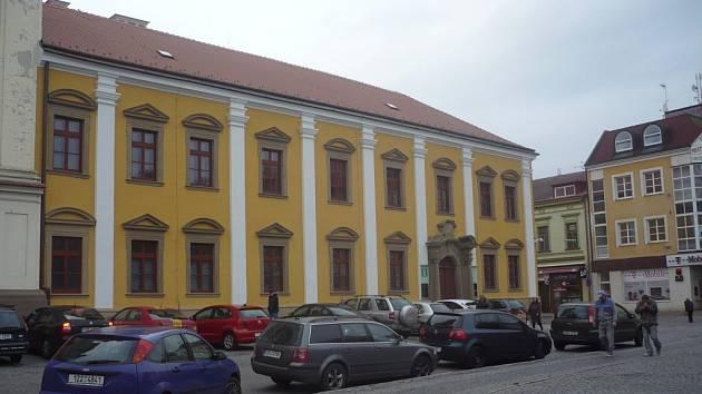 Jezuitská kolej v Uherském Hradišti. Ilustrační foto.
