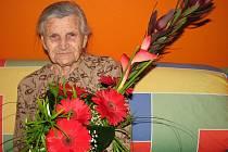 Marie Grebeníčková oslavila v úterý 2. února 2010 v plné síle své 101. narozeniny