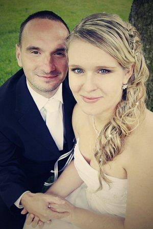 Soutěžní svatební pár 105 - Monika a Jan Bendovi, Šumperk.