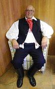 Ital se po devatenácti letech slibů oblekl v Hradišti do buchlovického kroje.
